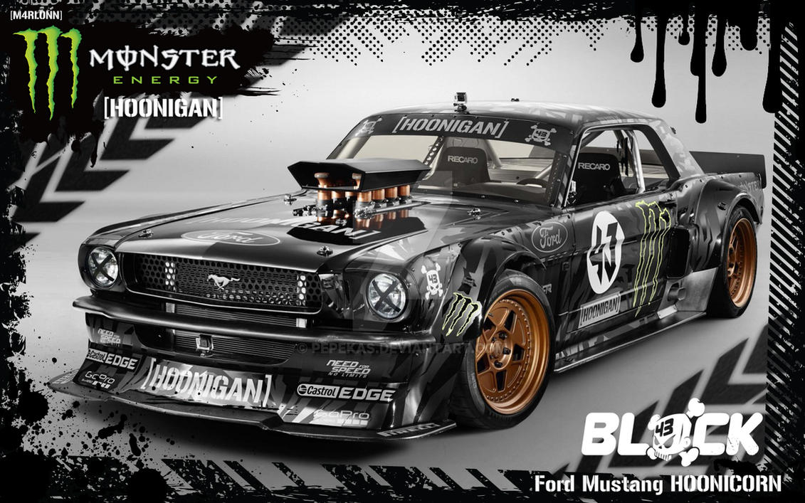 ford mustang hoonicorn by pepekas on deviantart. Black Bedroom Furniture Sets. Home Design Ideas