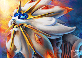 Solgaleo by Denouu
