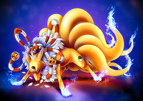 Kyubimon by Denouu
