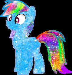 Galaxy Rainbow Dash by Mirai-Digi