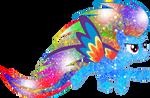 Galaxy Rainbow Power Rainbow Dash
