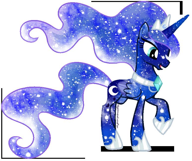 Galaxy Rainbow Power Luna by DigiRadiance