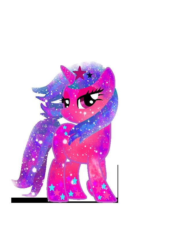Galaxy Rainbow Power Kawaiistar by DigiTeku