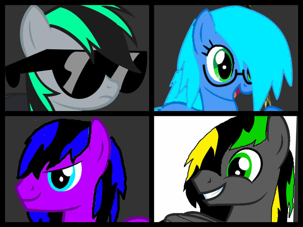 Digi's Mane 6 So Far by DigiRadiance