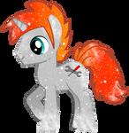 Blaze Troymisti1 Galaxy Pony Commission: