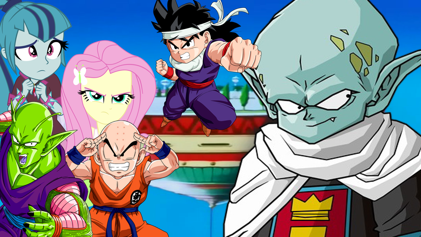 Dimension Mix Up Garlic Jr Saga Short By Mirai Digi On Deviantart He and gohan first meet and are fascinated by one another. dimension mix up garlic jr saga short