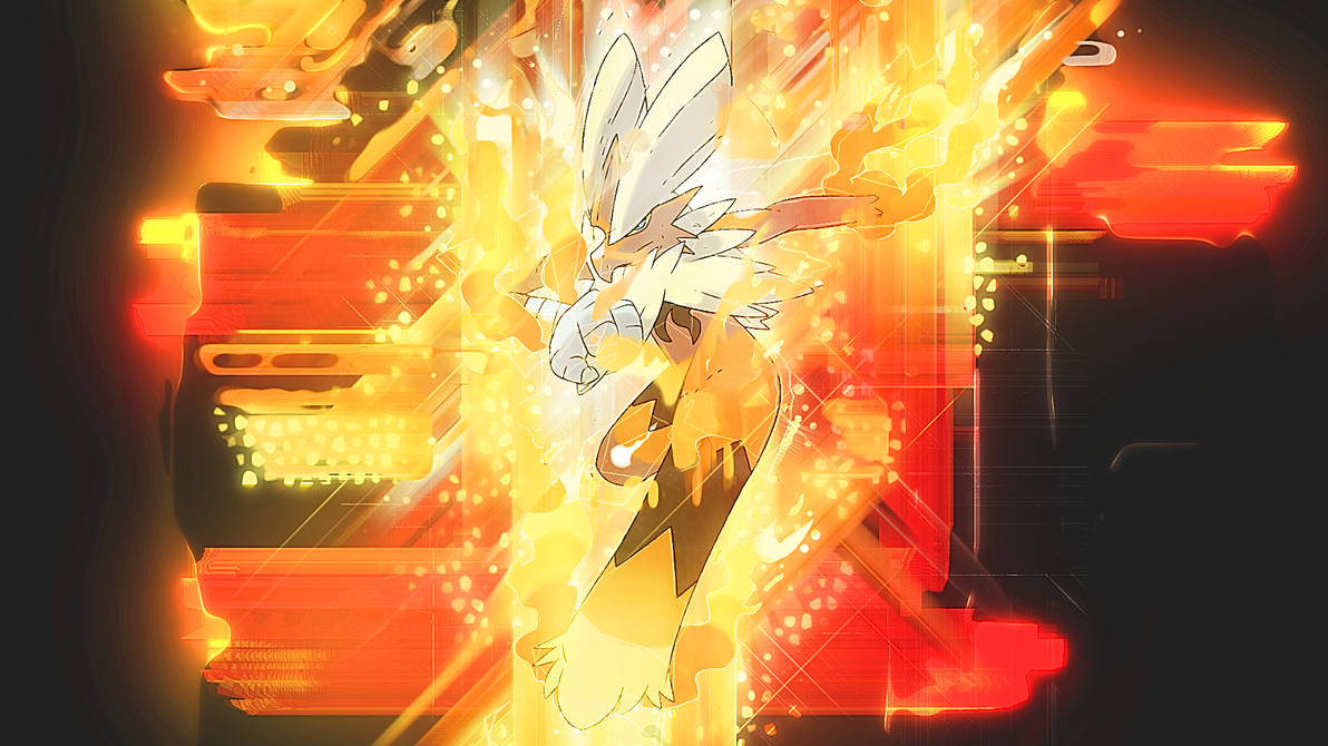 Mega Blaziken Wallpaper By Mirai Digi