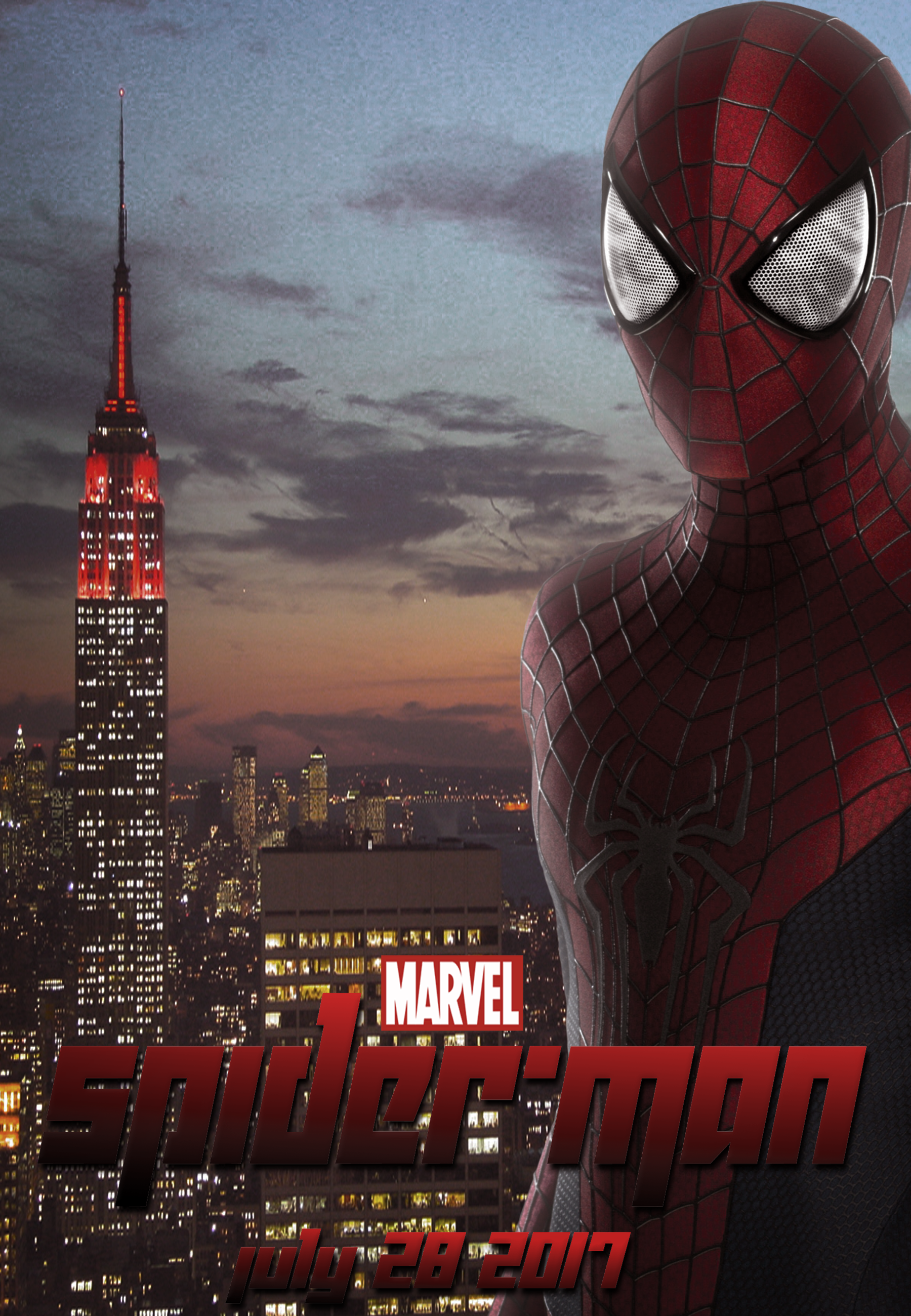 Spiderman 2017 Movie Fanmade Poster by Digi-TheSaiyan on ...