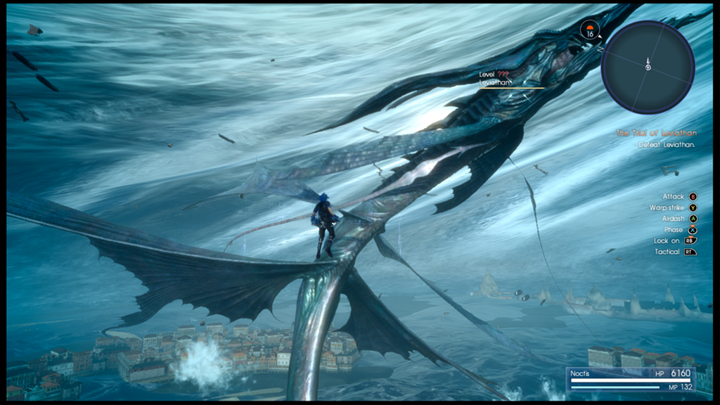 Final Fantasy Xv Wallpapers The Best 79 Images In 2018: Final Fantasy XV: Noctis Vs. Leviathan By Mirai-Digi On