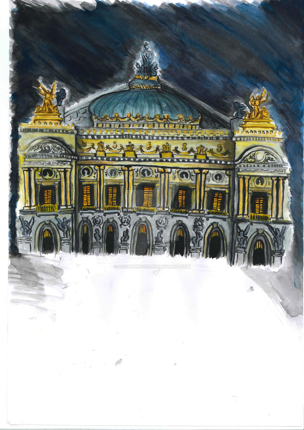 Paris Opera 2013 by RoseThief17