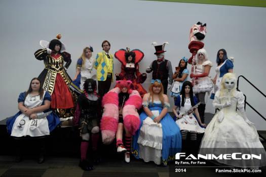 Fanime Wonderland Gathering 2014