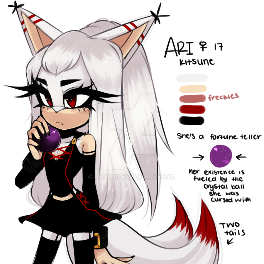Ari The Kitsune By Rasbii On Deviantart