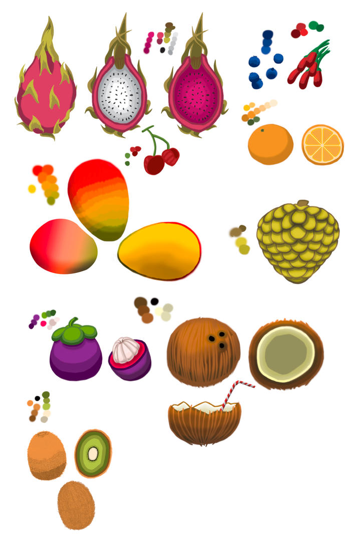 Fruit Exercise by TheNightmareNursery
