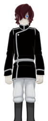 Dark Kingdom General - Standard Uniform Concept 01 by TheNightmareNursery