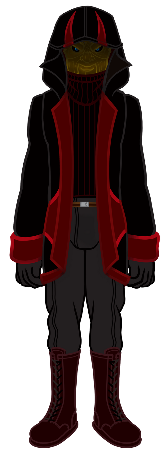 AltEgo: Retribution Outfit Concept 02 by TheNightmareNursery
