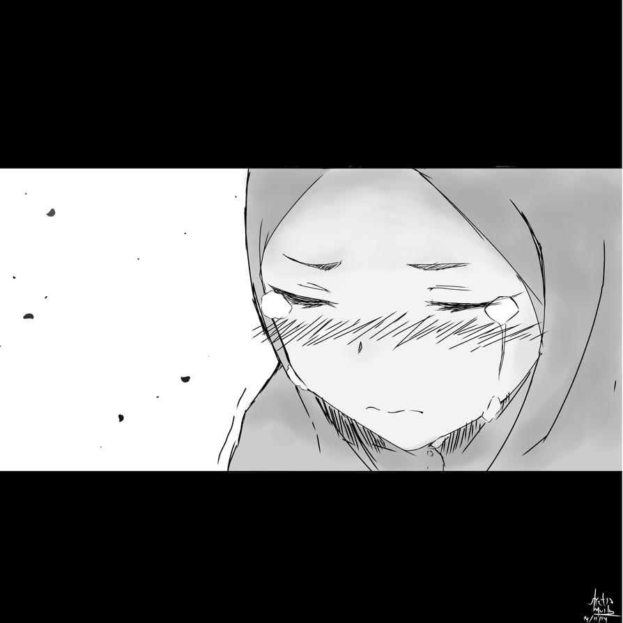 Cry by sketsamuslim