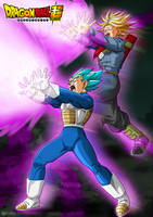 Trunks y Vegeta - Galick Ho