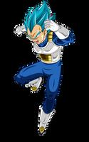 Vegeta SSJ Blue - Universe Survival by Dannyjs611