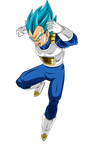 Vegeta SSJ Blue - Universe Survival