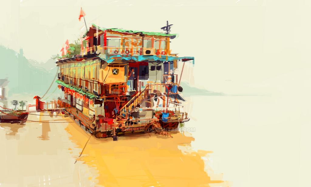 Boat by suhnarl
