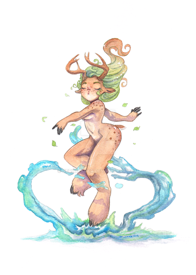 Fawn by jeriweaver