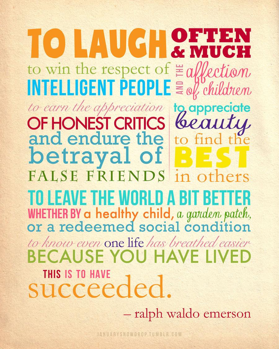 Ralph Waldo Emerson Quote Poster