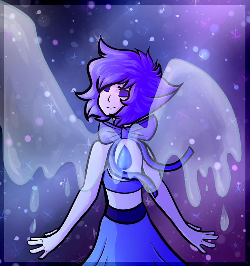jhregjrtyufvhfjgn, I drawed a person, am the proud of self. Very proud of self. I've wanted to draw lapis for awhile but I could never get her hair right ;w; anyways, this was drawn for my bf, I ho...