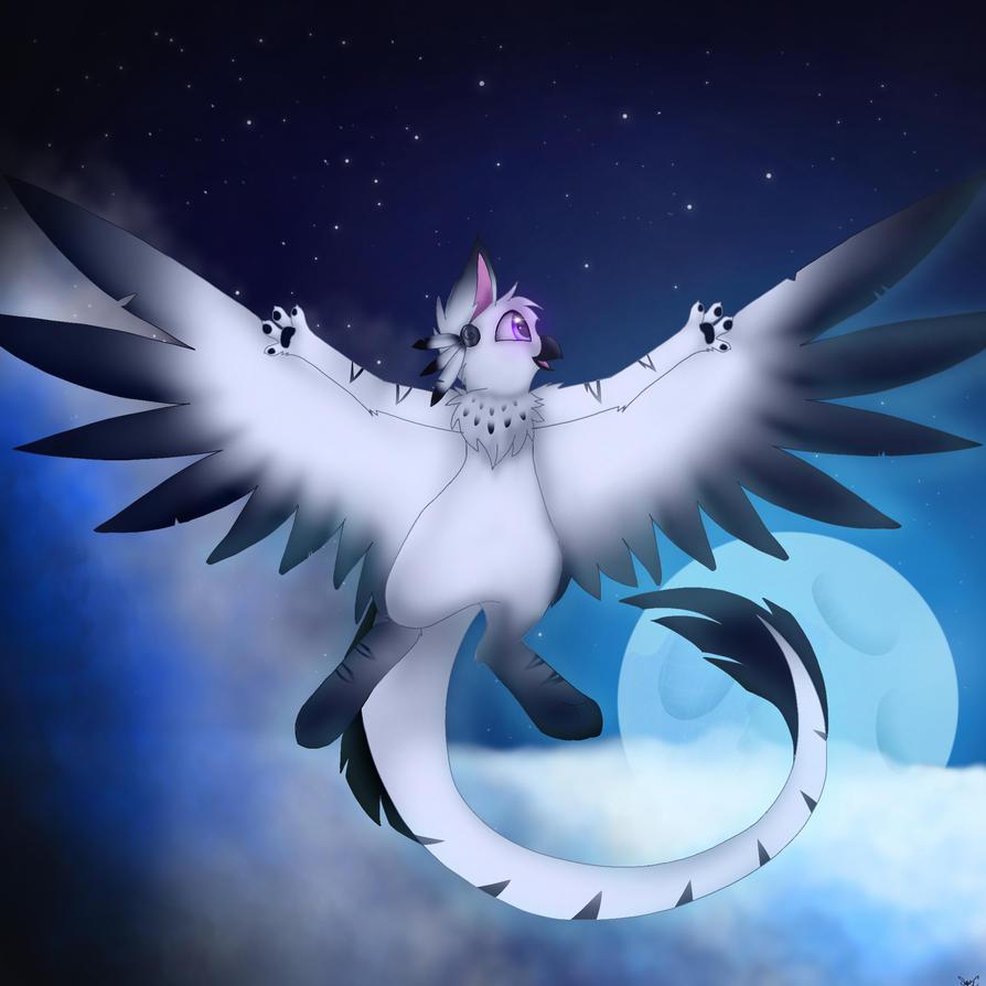 Moonlight Flight by SnowyCloud14481