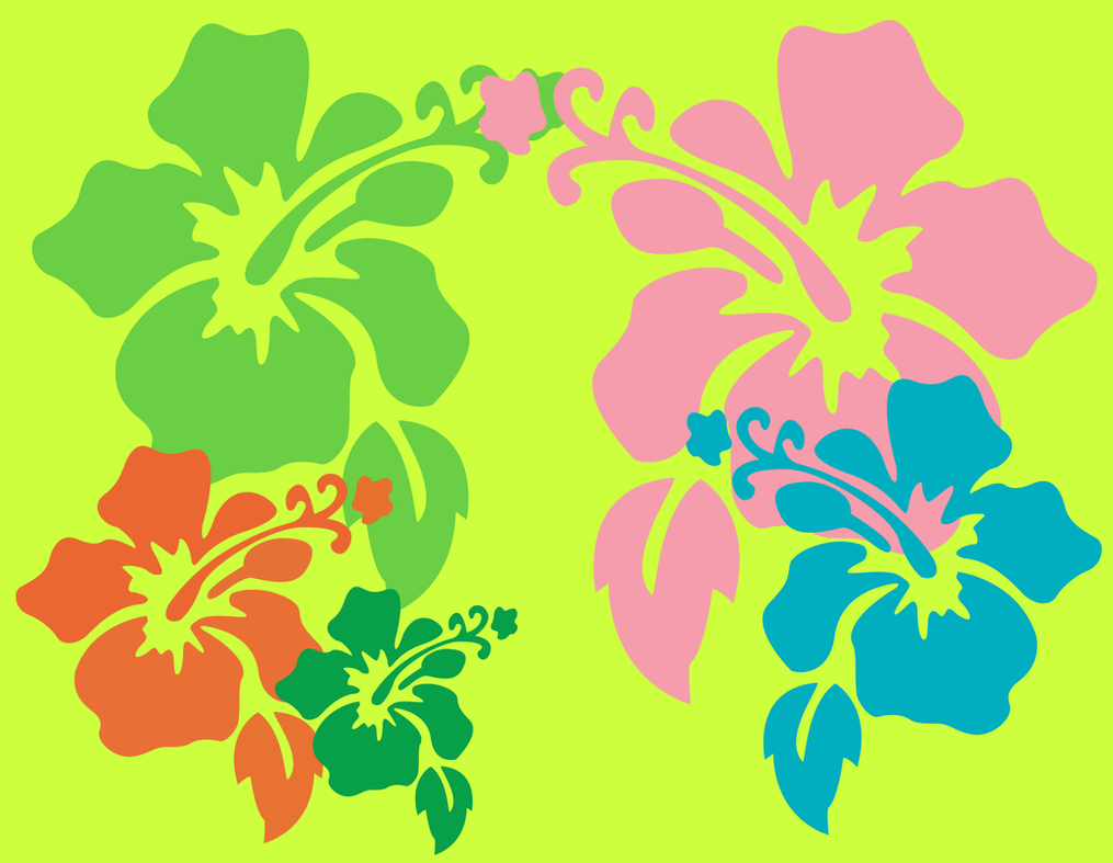 Hawaiian flower wallpaper by dtgraphicsandprints on deviantart hawaiian flower wallpaper by dtgraphicsandprints izmirmasajfo