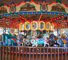 Santa Monica Pier Carousel 01