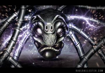 Alien Head by hecrazy
