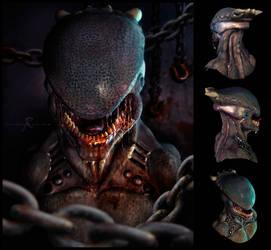 Alien01Poses by hecrazy