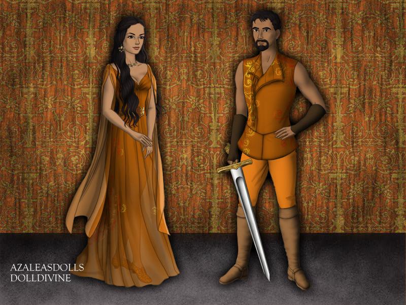 Fashion of Dorne by loverofbeauty