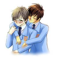 QUICK FANART - Touya and Yukito by x-Tsuka-x