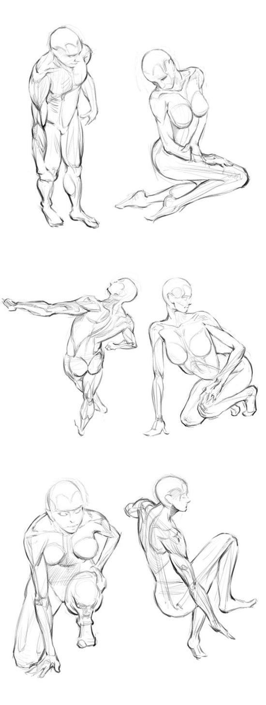 Human figure poses - photo#10