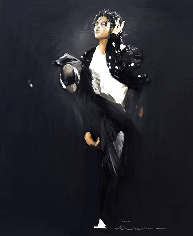 Michael Jackson's Billie Jean by darkdamage