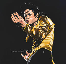 Michael Jackson in Dangerous Tour