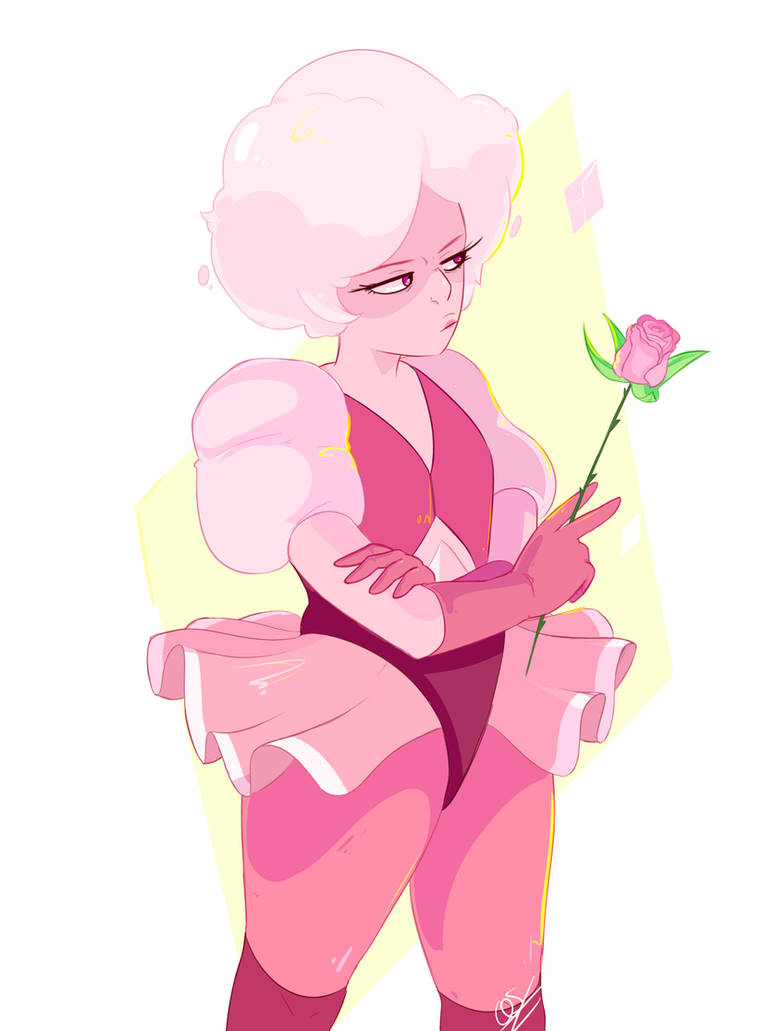 pink diamond by questionedSleeper