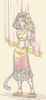 Neyla in dress