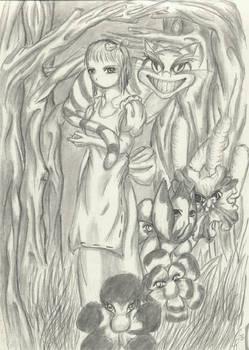Something Spooky in Wonderland