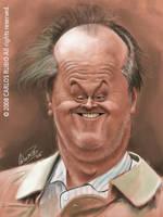Jack Nicholson Sketch by CarlosRubio