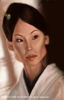 Lucy Liu by CarlosRubio