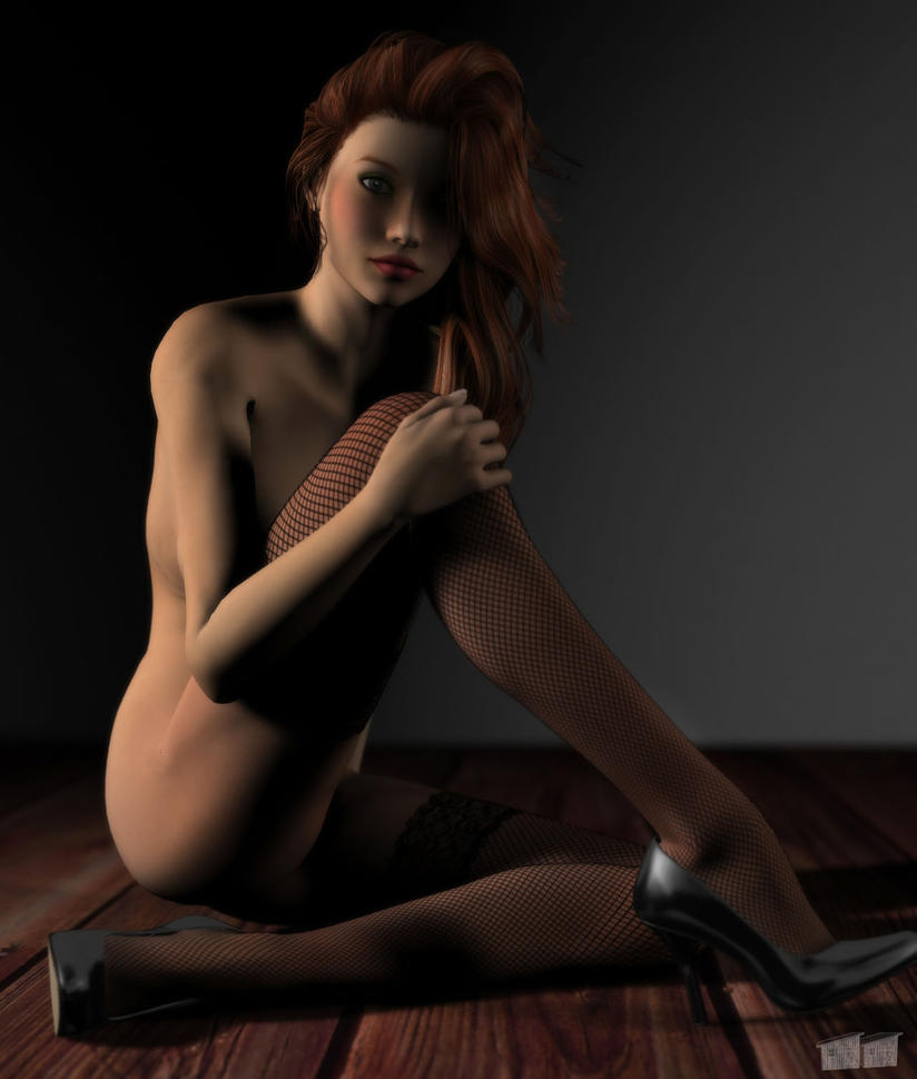 Melissa Nude by twosheds1
