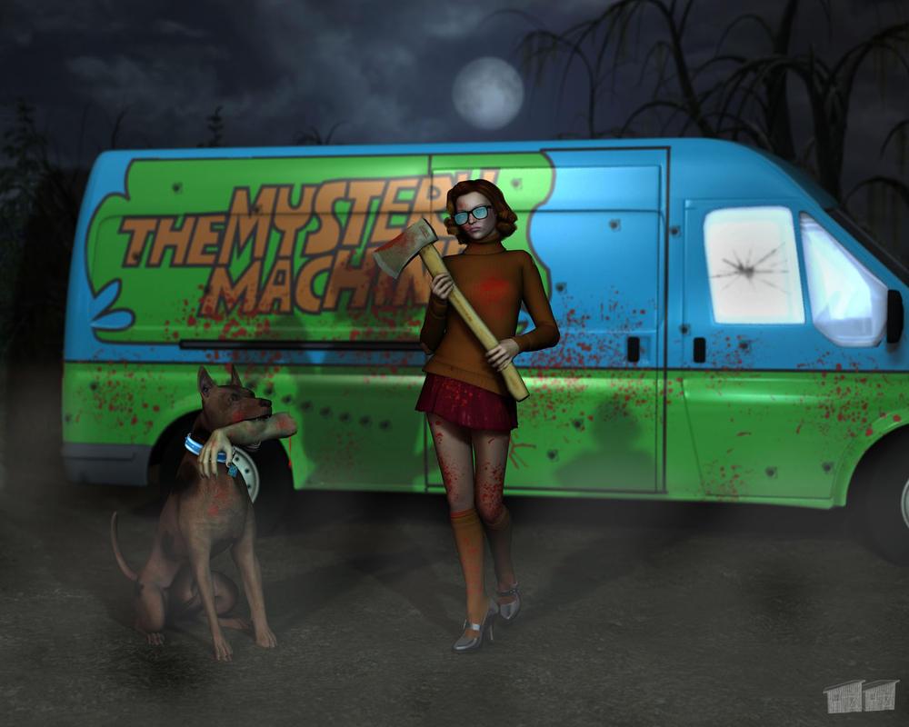 Badass Velma by twosheds1