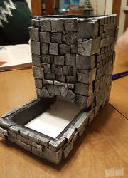 Dice Tower by twosheds1