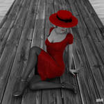 Red Hat, Red Dress