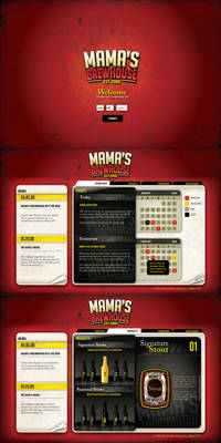 Mama's Brewhouse Website v2