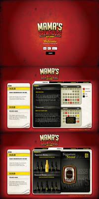 Mama's Brewhouse Website v2