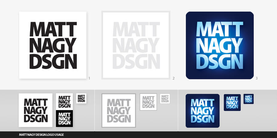 Matt Nagy Dsgn Logo Usage by mattnagy