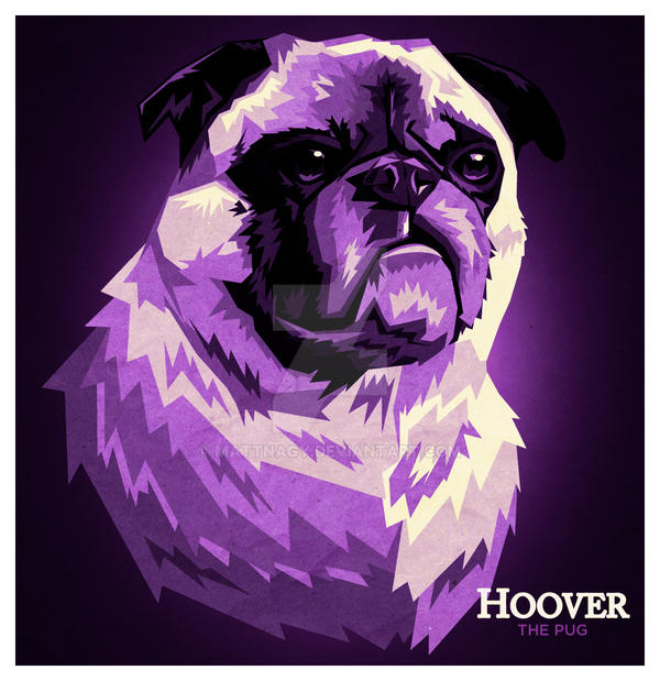 Hoover The Pug by mattnagy